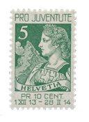 Schweiz 1913 - Michel 117 - Ubrugt