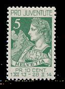 Suisse 1913 - Michel 117 - Neuf avec charnières