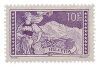 Schweiz 1914 - Michel 123 - Ubrugt