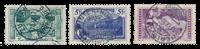 Suisse 1914 - Michel 121/23 - Oblitéré