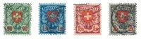 Suisse 1924 - Michel 194/97x - Oblitéré