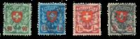Schweiz 1924 - Michel 194/97x - Stemplet