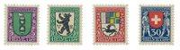 Suisse 1925 - Michel 214/17 - Neuf avec charnières