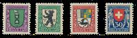 Schweiz 1925 - Michel 214/17 - Ubrugt