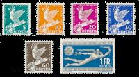 Schweiz 1932 - Michel 250/55 - Ubrugt