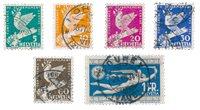 Suisse 1932 - Michel 250/55 - Oblitéré