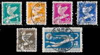 Schweiz 1932 - Michel 250/55 - Stemplet