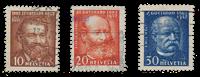 Schweiz 1932 - Michel 259/61 - Stemplet