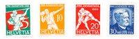 Schweiz 1932 - Michel 262/65 - Ubrugt
