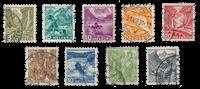 Suisse 1936 - Michel 297/305 - Oblitéré
