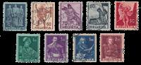 Suisse 1941 - Michel 377/85 - Oblitéré