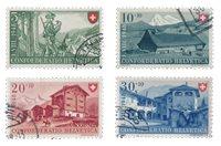 Schweiz 1948 - Michel 508/11 - Stemplet