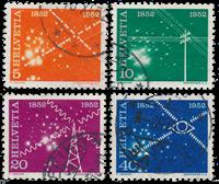 Schweiz 1952 - Michel 566/69 - Stemplet