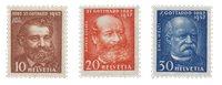 Suisse 1932 - Michel 259/61 - Neuf