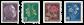 Schweiz 1948 - Michel 514/17 - Postfrisk