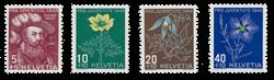 Schweiz 1949 - Michel 541/44 - Postfrisk
