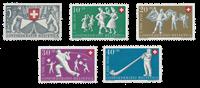 Schweiz 1951 - Michel 555/59 - Postfrisk