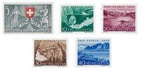 Schweiz 1953 - Michel 580/84 - Postfrisk