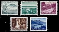 Suisse 1954 - Michel 597/601 - Neuf