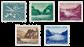 Schweiz 1956 - Michel 627/31 - Postfrisk