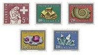 Suisse 1958 - Michel 657/61 - Neuf