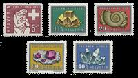 Schweiz 1958 - Michel 657/61 - Postfrisk