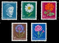Suisse 1963 - Michel 786/90 - Neuf