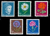 Schweiz 1963 - Michel 786/90 - Postfrisk