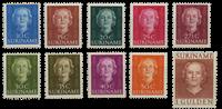 Nederland - Koningin Juliana 1951 (nr. 285-294, postfris)