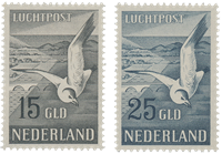 Holland 1951 - NVPH LP12-LP13 - Ubrugt