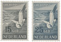 Holland 1951 - NVPH LP12 and LP13 - Postfrisk