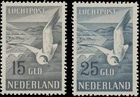 Nederland Luchtpost Zeemeeuw 1951 - Nr. LP12 enLP13 - Postfris
