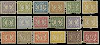 Suriname 1913 - Nr. 69-86 - Ongebruikt