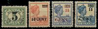 Suriname 1925 - Nr. 111-114 - Ongebruikt