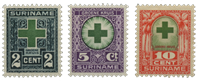 Suriname - Nr. 127-129 - Ongebruikt