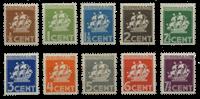 Suriname 1936 - Nr. 157-166 - Ongebruikt