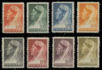 Suriname 1936 - Nr. 167-174 - Ongebruikt