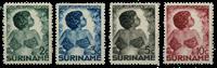 Suriname 1936 - Nr. 179-182 - Ongebruikt