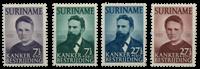 Suriname 1950 - Nr. 280-283 - Ongebruikt