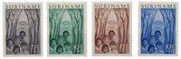 Suriname 1954 - Nr. 312-315 - Ongebruikt