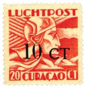 Curacao - 1934 - LP17, neuf avec ch.