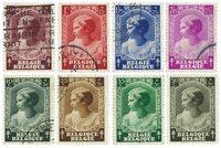 Belqique - Princesse Josephine-Charlotte 1937 - Obl. (OBP 458-65)
