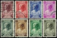 Belgien 1937 - OBP 458-65 - Stemplet