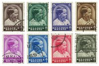 Belgique - Tuberculose Prince Baudouin 1936 - Obl.  (OBP 438-45)