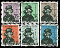Luxembourg 1938 - Oblitéré - Michel 315-20