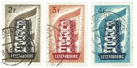 Luxembourg - Europa 1956 - Stemplet (Mi. 555-57)