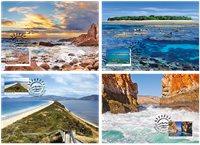 澳大利亚新邮, 岛 极限片