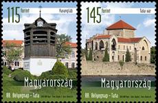 Hongrie - La Journée du Timbre - Série neuve 2v