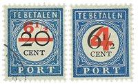 Holland 1906 - NVPH P29-P30 - Stemplet