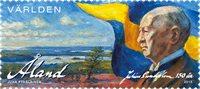 Åland - Julius Sundblom - Timbre neuf